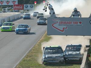 NASCAR Truck Series, la carrera llena de polémica y peleas