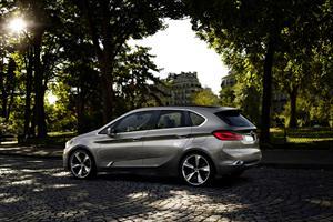 BMW Concept Active Tourer en el Salón de París 2012