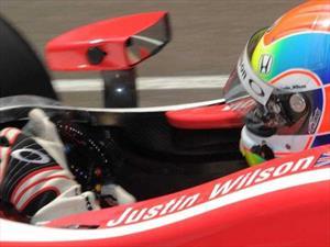Muere Justin Wilson, piloto de IndyCar