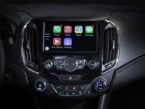 Chevrolet instalará CarPlay y Andorid Auto
