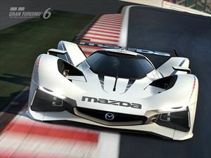 Mazda LM55 Vision Gran Turismo se estrena en el GT6