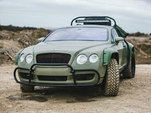 Bentley Continental GT Rally Edition es un aventurero adinerado