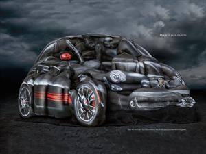 Video: Un FIAT 500C Abarth hecho con bodypainting