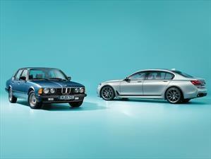 BMW Serie 7 Edition 40 Jahre celebra el 40 aniversario del sedán de lujo