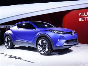 Toyota C-HR Concept, potencia off-road