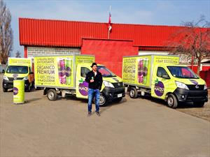 Jaime Valdés escoge a Changan para el traslado de sus productos