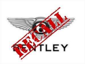 Bentley hace recall para el Bentayga
