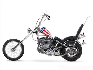 Subastarán motocicleta Harley-Davidson de Peter Fonda
