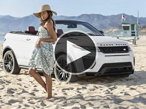 Video: Naomie Harris y el Range Rover Evoque Convertible