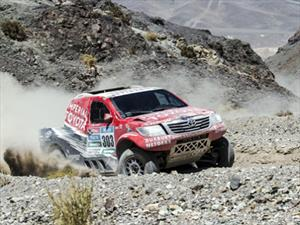 Dakar 2015: octava etapa, Giniel al ataque