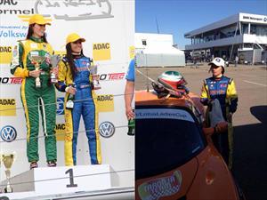 Glory Fernández, la única piloto latina en el Lotus Ladies Cup