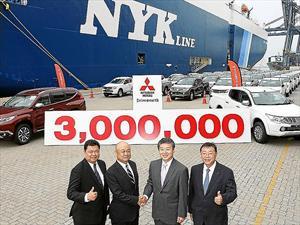 Mitsubishi exportó 3 millones de unidades desde Tailandia