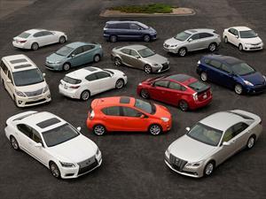 Toyota ha vendido más de 6 millones de vehículos híbridos