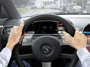 Continental crea un volante con control de gestos