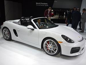 Nuevo Porsche Boxster Spyder, deportividad pura