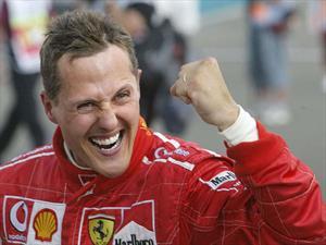 Michael Schumacher ya salió del hospital