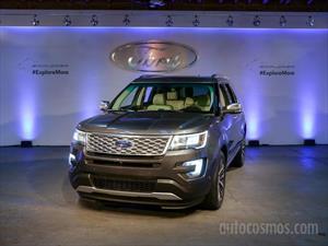 Ford Explorer 2016 se presenta en México