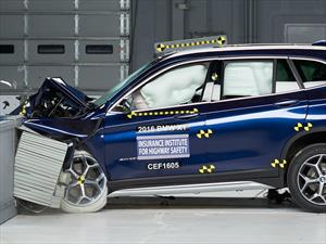 Top Safety Pick+ de IIHS para el BMW X1 2016