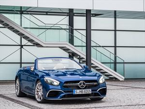 Mercedes-Benz SL 2017 se presenta