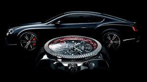La relojera suiza Breitling presenta el Bentley GMT V8