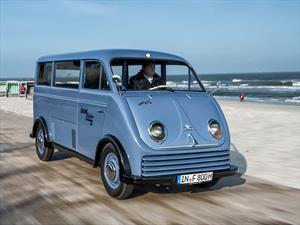 Audi restaura una extraña van eléctrica DKW de 1956