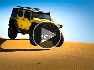 Video: Jeep Wrangler Unlimited es llevado al límite