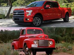 Así evolucionó la - Ford Serie F desde la primera generación hasta la actual