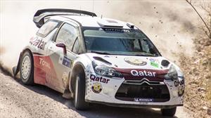 Loeb extiende su liderazgo en el Rally México 2012