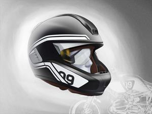 BMW Motorrad presenta luz láser para motocicleta y casco con Head-Up Display