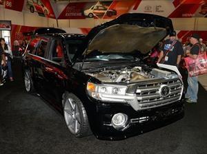 Toyota Land Speed Cruiser ¡con 2,000 hp de poder!