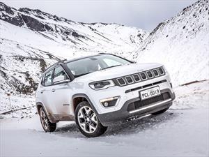 Jeep Compass 2017 se dejará ver en Valle Nevado