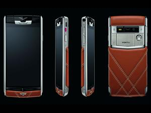 Un smartphone con sello Bentley