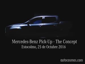 La nueva pick-up de Mercedes-Benz esta a solo dias de su presentación
