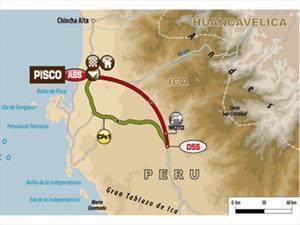 Dakar 2013, los detalles de la Etapa 2