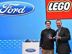 Ford Mustang y Lobo Raptor de LEGO, versiones miniatura para divertirse
