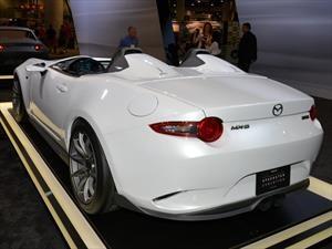 Mazda MX-5 Speedster Evolution, verdadero peso pluma