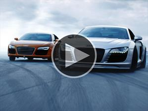 Video: Dos Audi R8 haciendo drift con neumáticos Toyo Tire