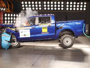 Latin NCAP: La nueva Ford Ranger estrenó el protocolo con 3 estrellas