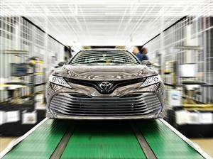 Inició la producción del nuevo Toyota Camry