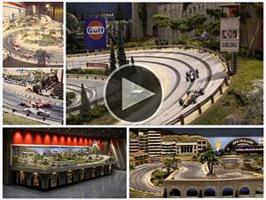 Video: Autopista de Scalextric de 300 mil dólares