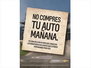 Chevrolet cierra sus concesionarias para preparar promociones