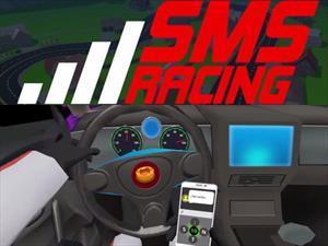 SMS Racing, el videojuego que te muestra los riesgos de textear mientras manejas