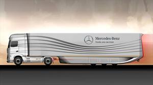 Mercedes-Benz presenta un camión con tráiler súper aerodinámico