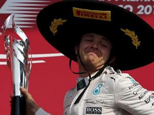 F1 GP de México, Nico Rosberg domina de principio a fin
