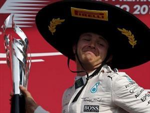 F1 GP de México, andale Nico