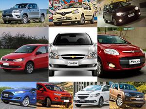Top 10: Los autos más vendidos de Argentina en febrero de 2016