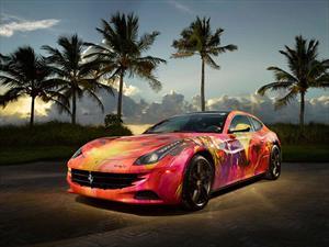 Ferrari FF convertido en obra de arte por DUAIV