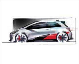Toyota confirma un hot hatch inspirado en el Yaris WRC
