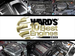 Los 10 mejores motores de 2015 según Ward's