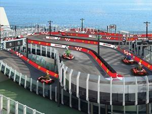 Norwegian Joy, el crucero para los fans de Ferrari